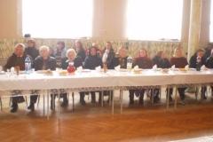 Posedenie so seniormi 2012